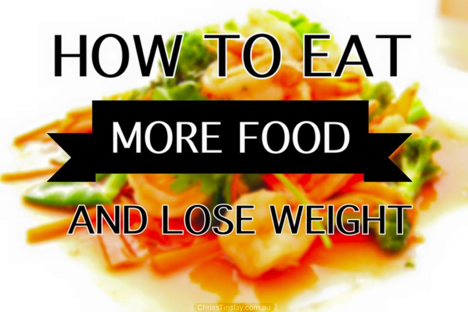 how to eat more food