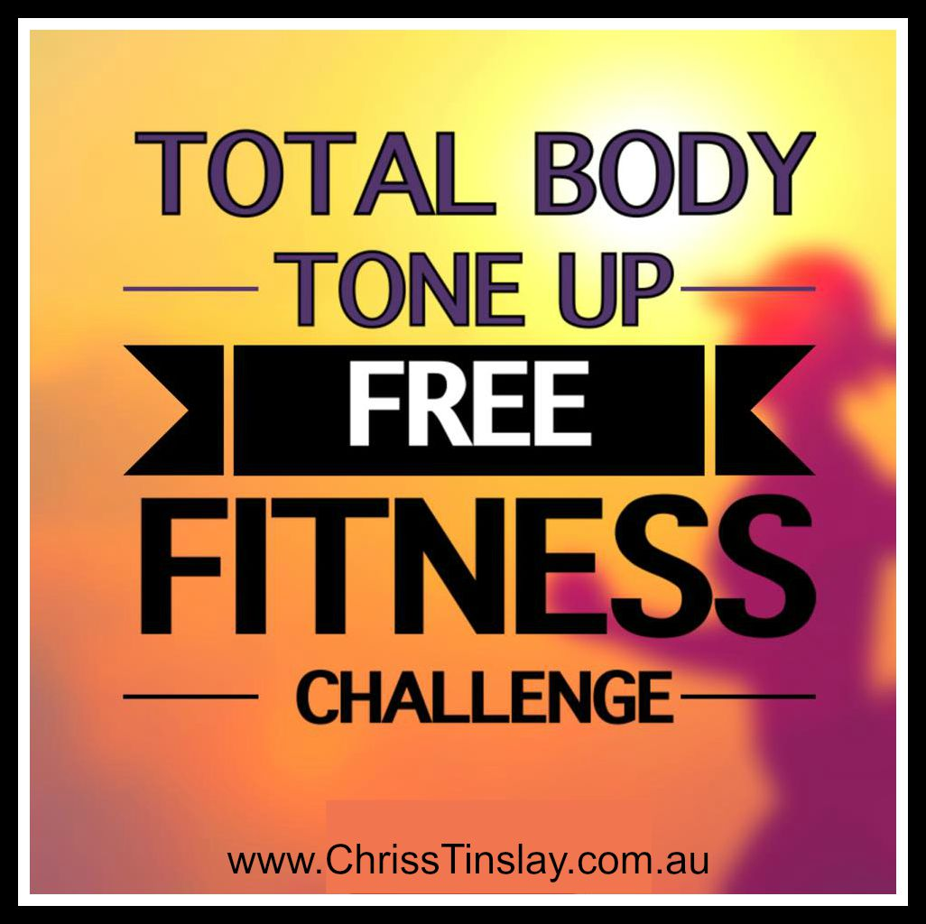 total body tone up free fitness challenge