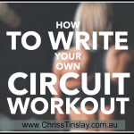 8 steps to write your own (awesome) workout
