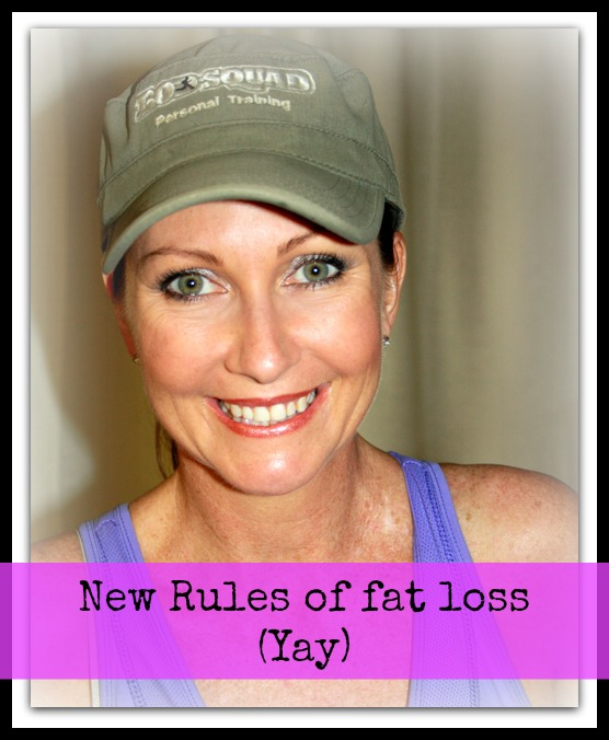 new rules of fat loss
