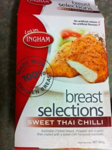 inghams sweet chilli chicken