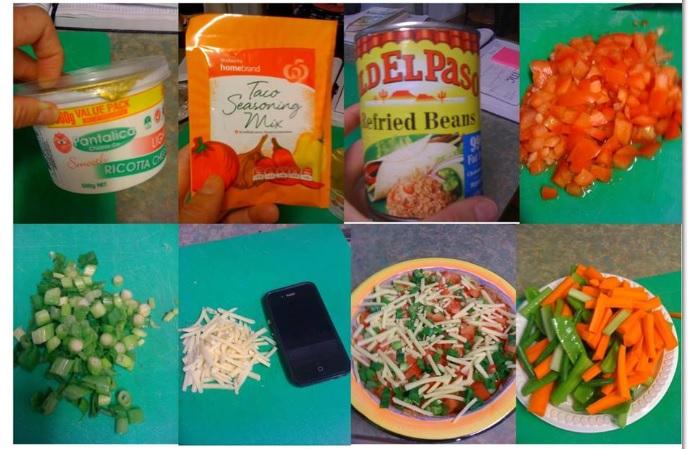 healthy mexican dip ingredients