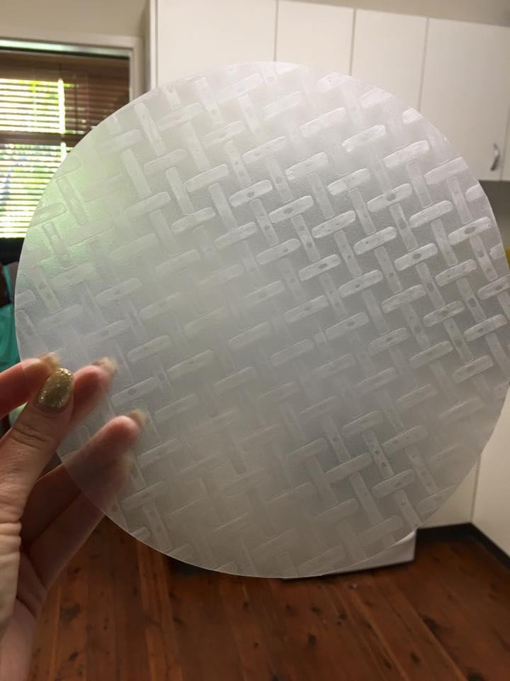 rice paper piece