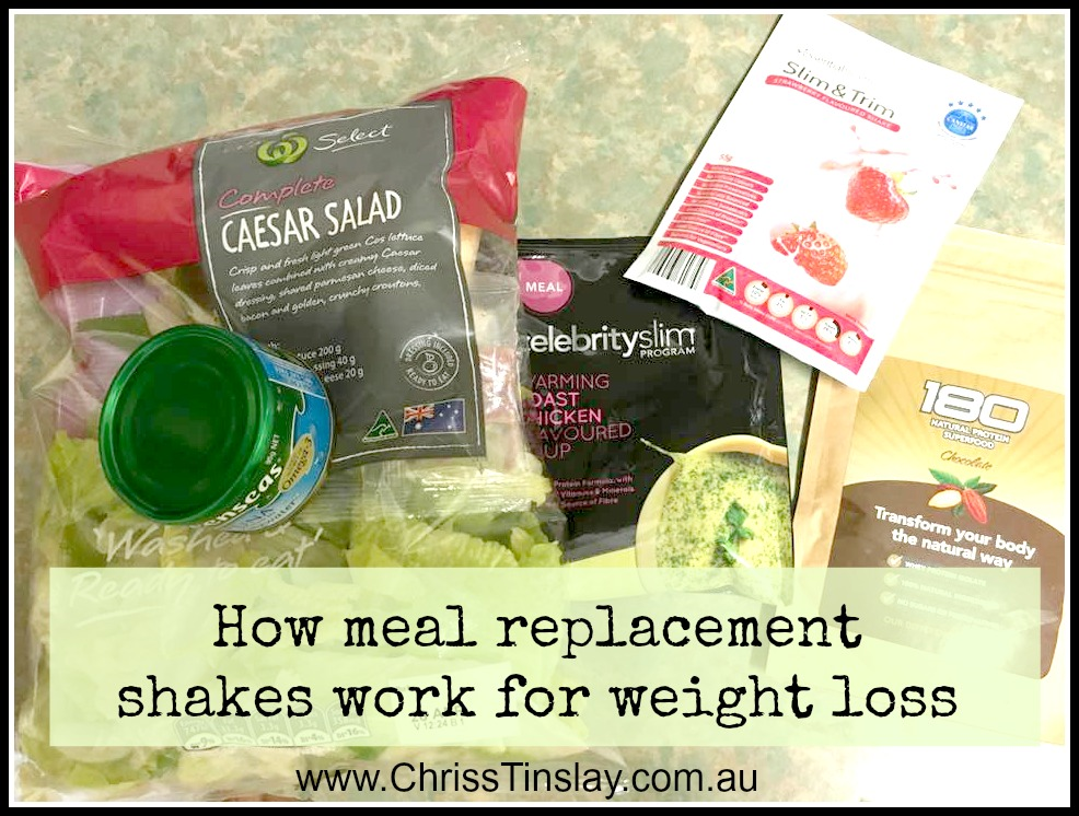 how meal replacement shakes work for weight loss