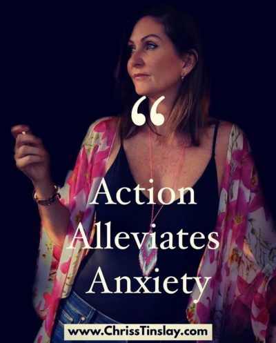 action alleviates anxiety